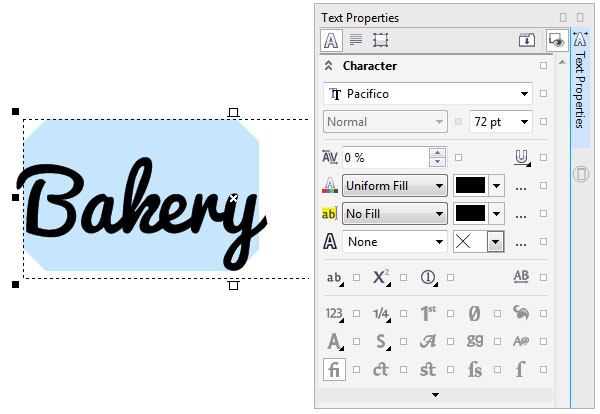 How to Use the Text Tool in CorelDRAW