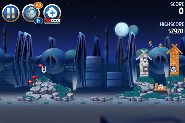 Angry Birds in Space