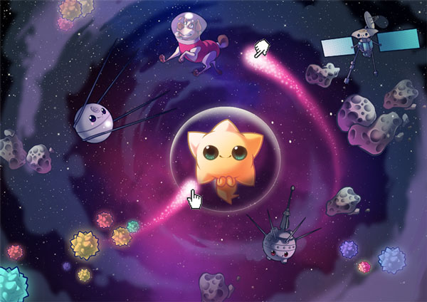 Concept art for Sleepy Stars