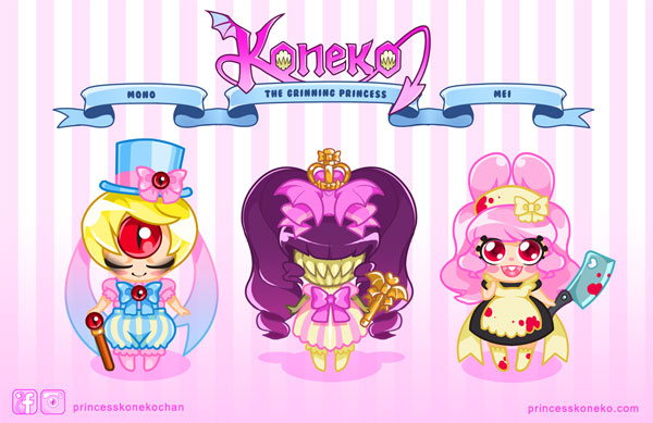 Mini Koneko designs