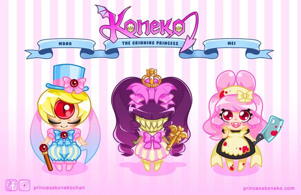 Mini Koneko designs