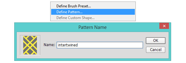 Define your new pattern