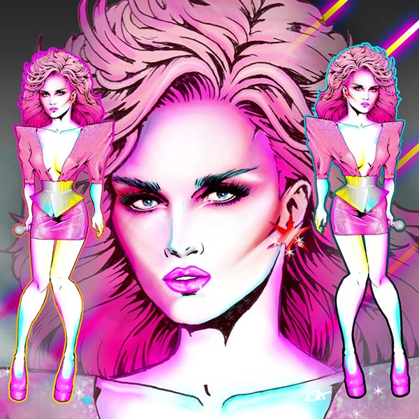 Jem and the Holograms illustration