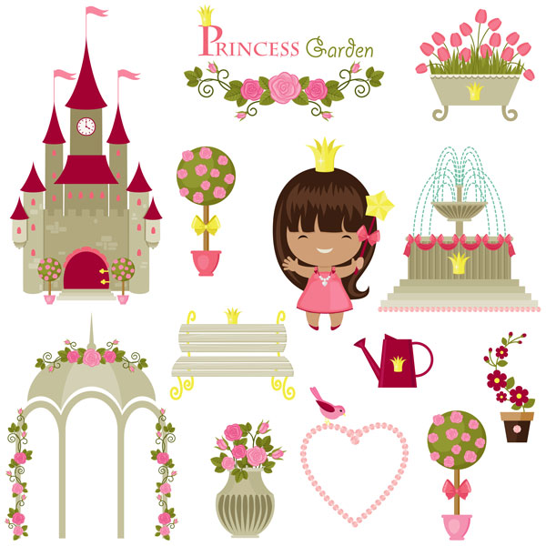 Little Princess stock art design