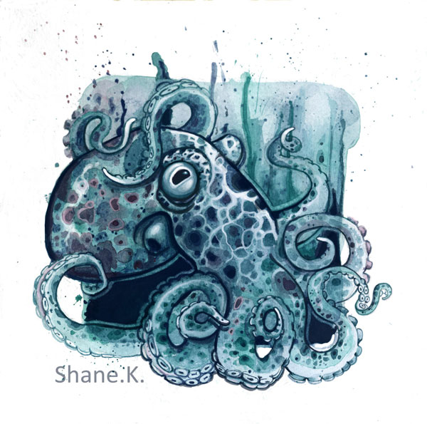 Tentacles from Shanes Abyss series