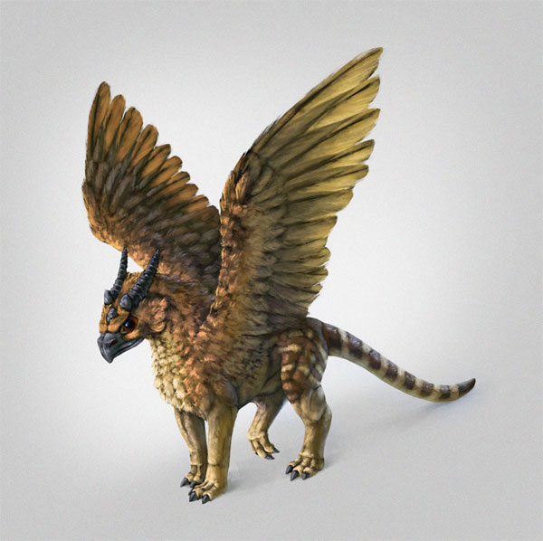 I like creating new beasts here a dragriffin