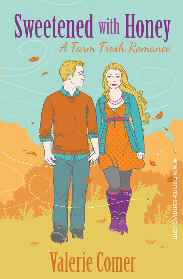 Book cover illustration by Hanna Sandvig