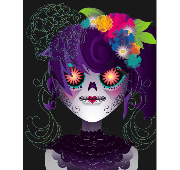 BookeCandys calavera girl