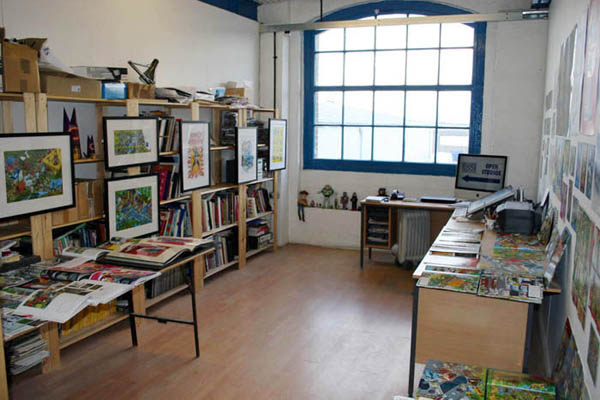 Rods studio space