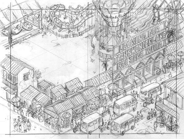 Sketch and layout