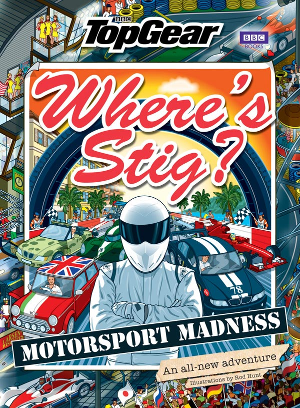 Cover of Wheres Stig Motosport Madness