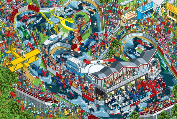 Wheres Stig illustration