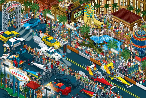 Wheres Stig drag race piece