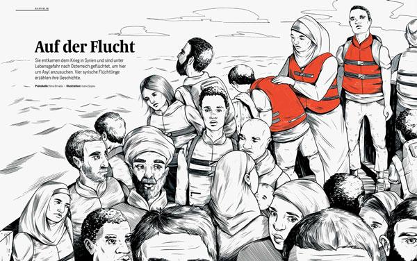 DATUM Magazine Cover  Story