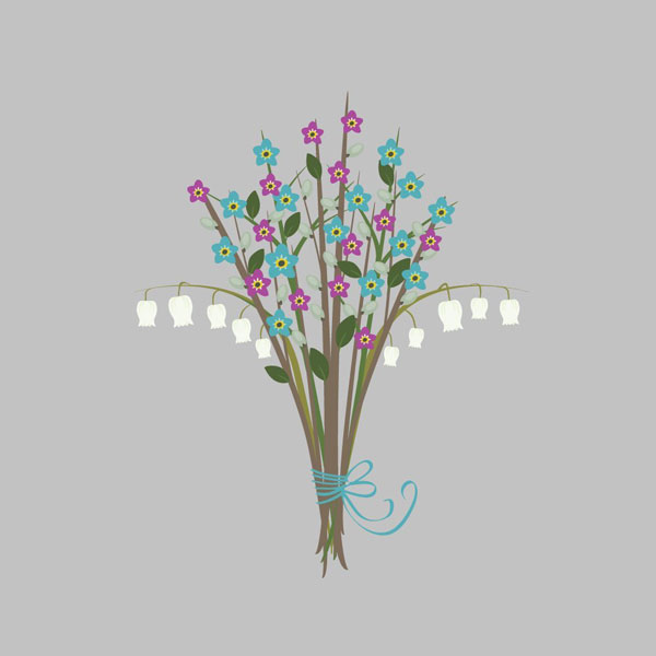 Jamie Werners flower bouquet design