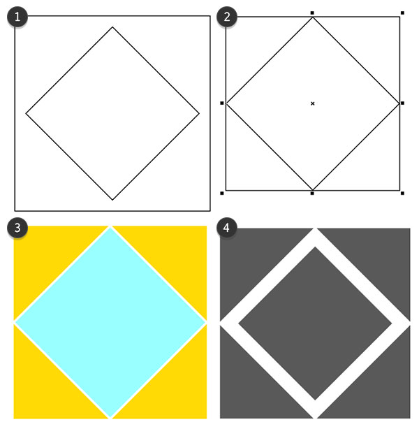 Create the first pattern tile