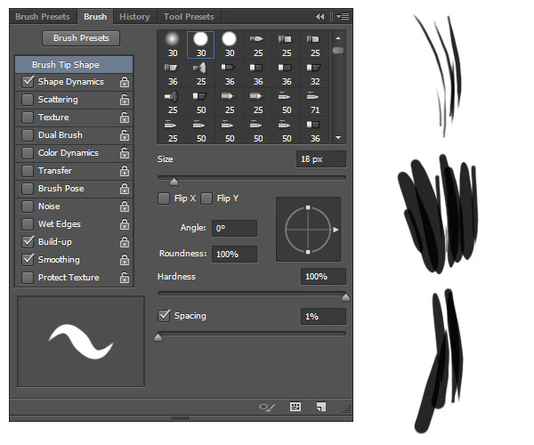 Create short fur brushes