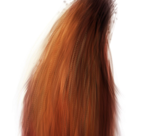 Add additional textures to the fox tail