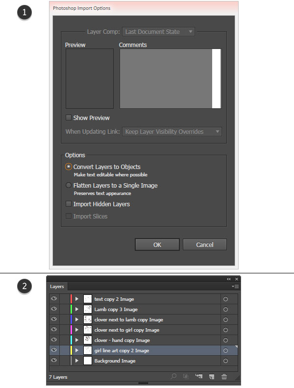 Import your PSD into Illustrator