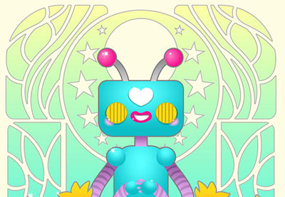 Link toCreate an art nouveau-inspired robot design in coreldraw