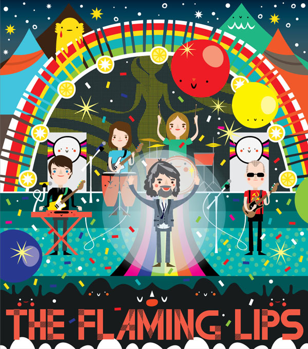 the flaming lips vector piece