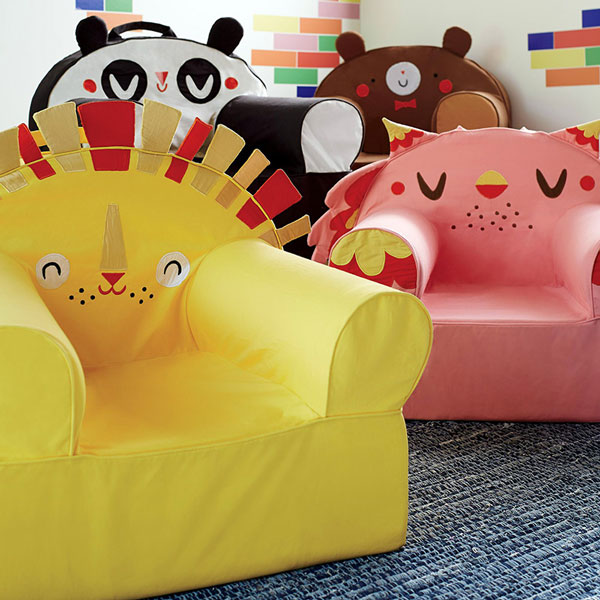 Cute chair designs for The Land of Nod