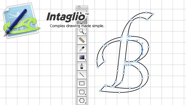 Intaglio drawing program