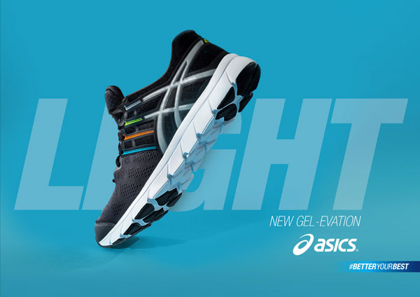 Asics advertising campaign with direction by James Oconnell
