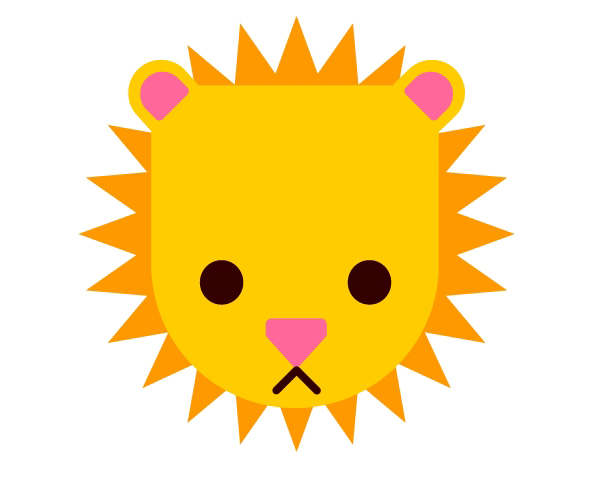 Complete your lion design
