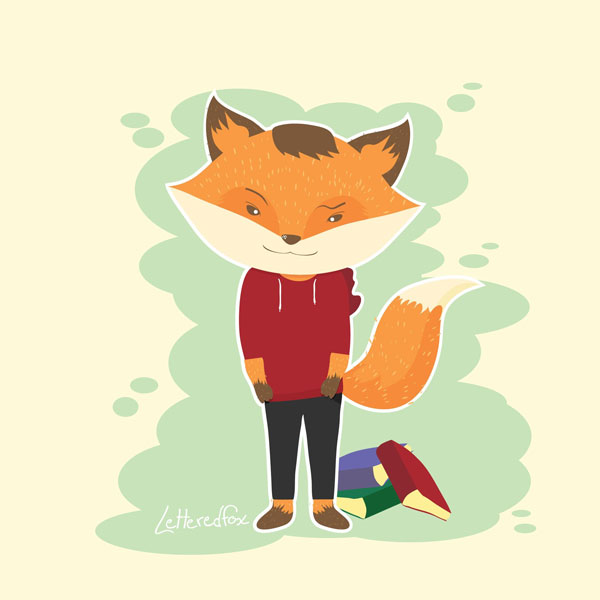 Cole Mitchell shared their self-portrait styled take on a fox character tutorial from Yulia Sokolova