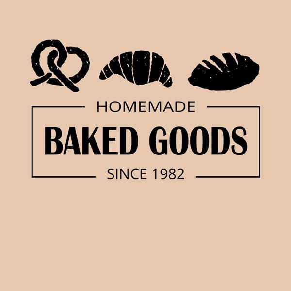 wans fresh baked logo design