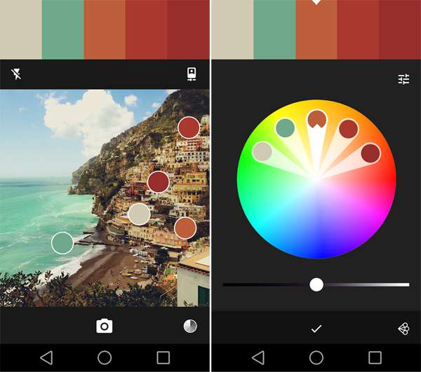 Adobe Color interface