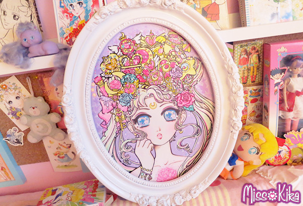 Lizs Sailor Moon piece for QPop shops Sailor Moon show