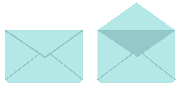 Open and closed envelopes