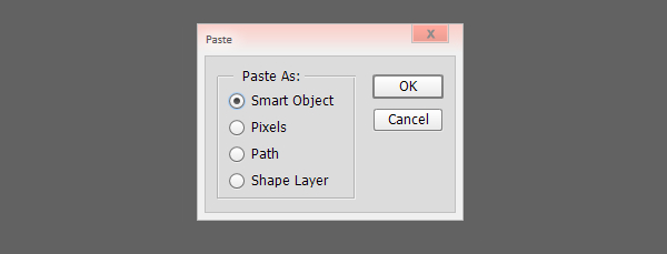 Paste each object into your document