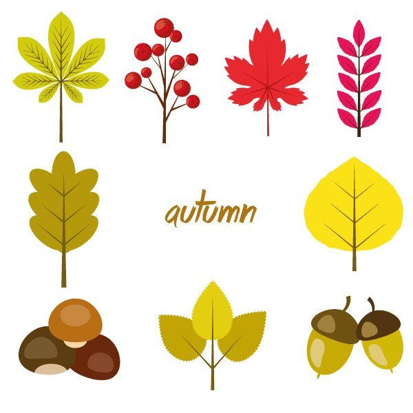 User canserina commented with their lovely autumn-inspired icon result from a tutorial by Nataliya Dolotko