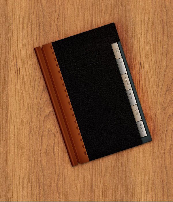 User Angelaboy commented on a fantastic address book icon tutorial by Andrei Marius with their own version