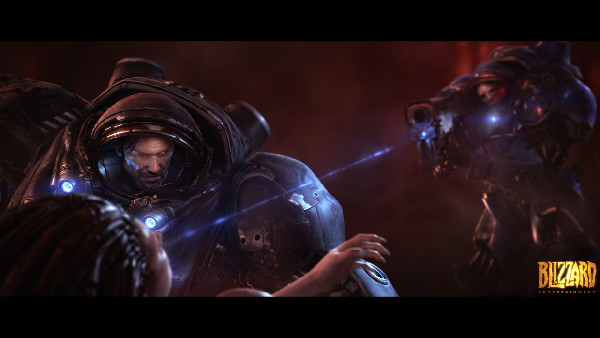 LightingCompositing - StarCraft II Wings of Liberty cinematic 2010
