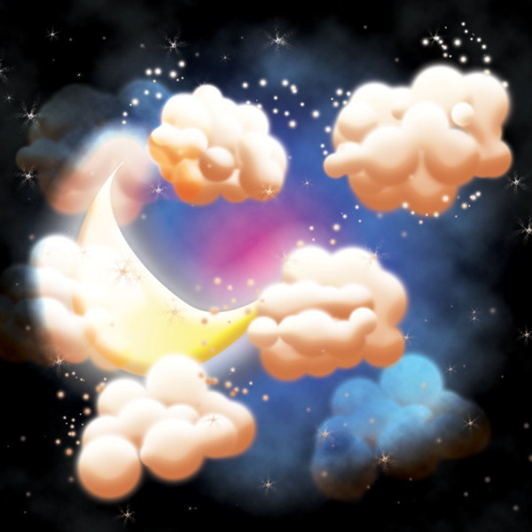 User Samantha put her own spin on this fantastical night sky design from a tutorial by Fabio Sasso