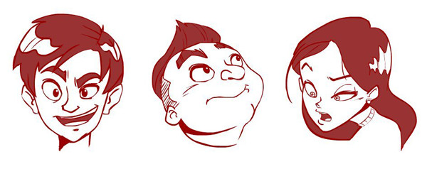 Zulhilmi Mohd Nor shared his results from a cartoon face tutorial by Carlos Gomes Cabral