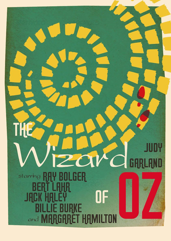 Vera Raziote commented with her result from a wonderful Wizard of Oz poster tutorial by Grace Fussell