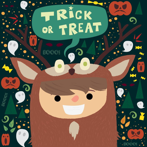 Agata Filipiuk commented with their own take on a fun Halloween-inspired illustration tutorial by Ivan Petrusevski