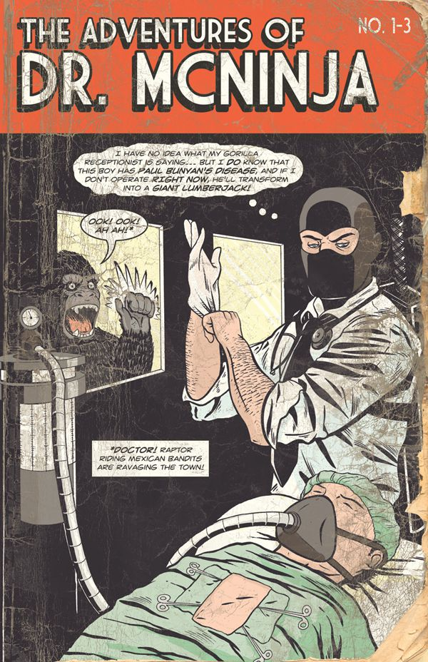 The Adventures of Dr McNinja by Christopher Hastings