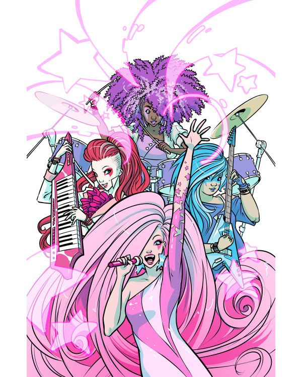 Jem and the Hologramsart by Sophie Campbell