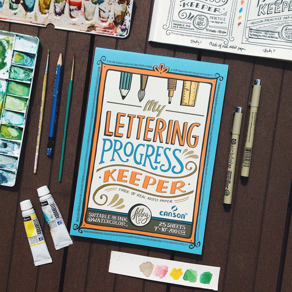 Sketchbook cover designed by Abbey Sy for IFEX