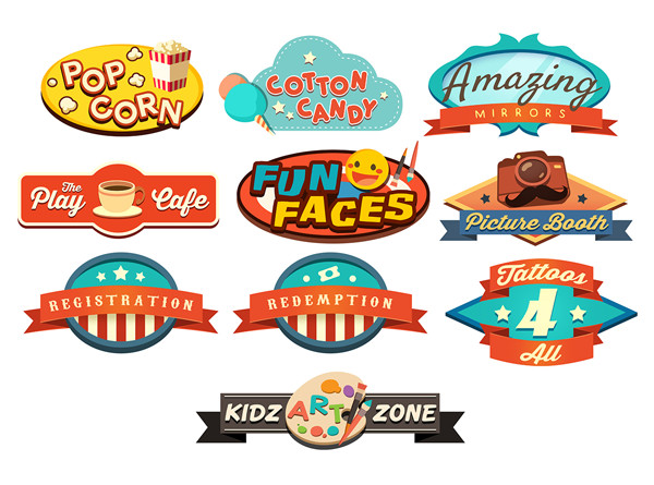 Fun Pop Logo Designs