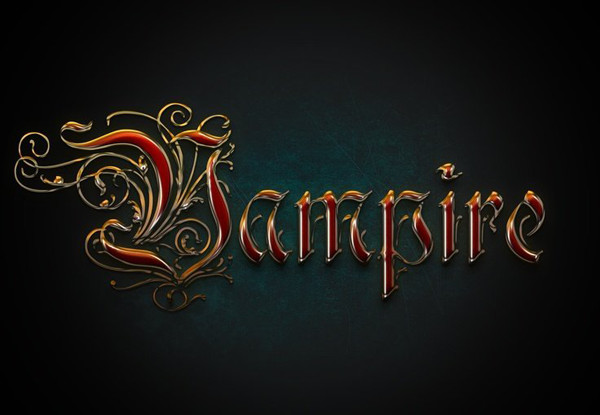 User hiep commented with an elegant version of a metallic text effect design from a tutorial by Gianluca Giacoppo