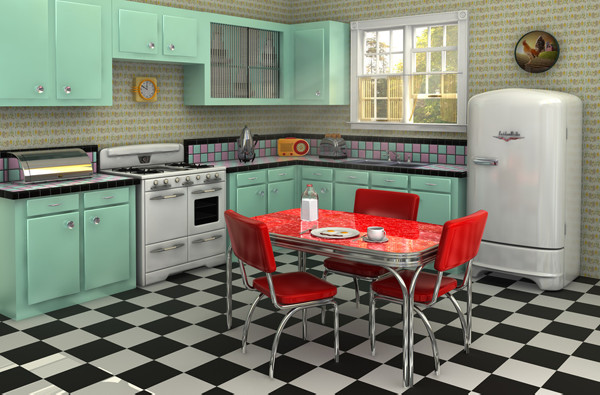 1950s Kitchen