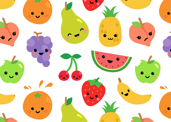 Fruit Character Creation Kit