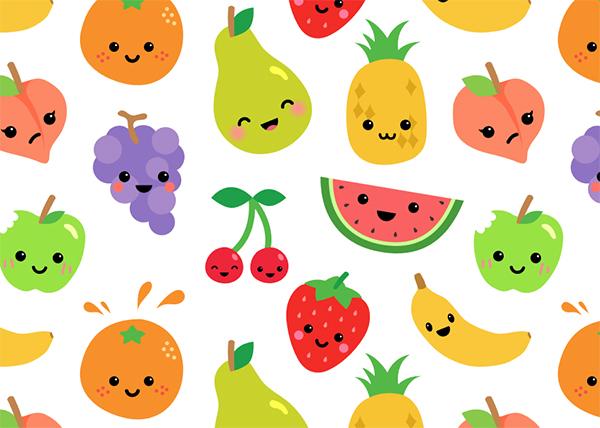 Fruit Character Creation Kit